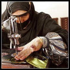 Iranian Bandari Woman by Roozbeh Feiz, via Flickr