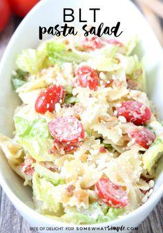 BLT Pasta Salad - Th
