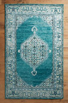 Anthropologie Overdyed Naima Rug