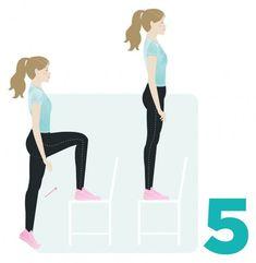 Vain seitsemän minuuttia riittää! Tämä pikajumppa korvaa tunnin puurtamisen | Me Naiset Hiit, Health Fitness, Ballet Skirt, Sports, Hs Sports, Tutu, Excercise, Sport, Exercise