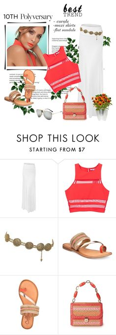 """Celebrate Our 10th Polyversary!"" by sassy-elisa ❤ liked on Polyvore featuring T By Alexander Wang, Chanel, Callisto, Eric Javits, polyversary and contestentry"