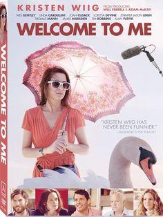 Welcome to Me - Starring Kristen Wiig, Linda Cardellini, Joan Cusack, James Marsden, Wes Bentley, Alan Tudyk, Loretta Devine, Jennifer Jason Leigh, Tim Robbins, Thomas Mann. #comedy