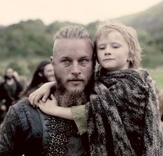 Vikings (series 2013 - ) Starring: Travis Fimmel as Ragnar Lothbrok, (and his second son with Aslaug) Cathal O'Hallin as Hvitserk.