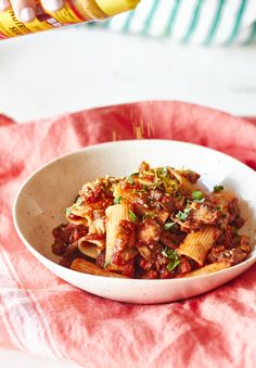 Aubergine and mushroom bolognese — Cooking Lessons from The Kitchn