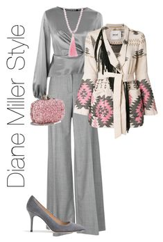 The beauty of grey and pink by diane-miller2904 on Polyvore featuring polyvore, fashion, style, Topshop, Bazar Deluxe, Alexander McQueen, J.Crew, Elise M. and clothing