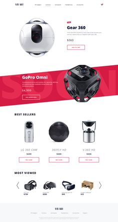 VR Retailer Website by Ramotion