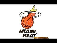 How to Draw the Miami Heat Logo