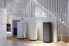 New sauna heaters in Tulikivi showroom at Habitare Exhibition.