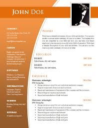 Image Result For Cv Templates Free Download Word Document Free