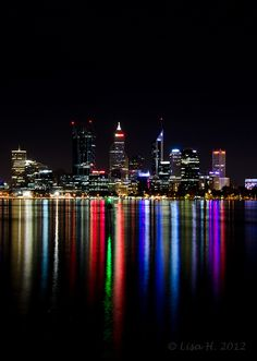 Perth by night...