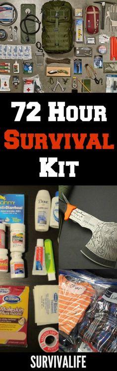 Survival Life's Comprehensive Checklist For 72 Hour Survival Kit