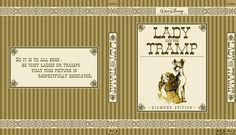 Lady and the Tramp - Alternate Disney Blu-Ray Slipcover