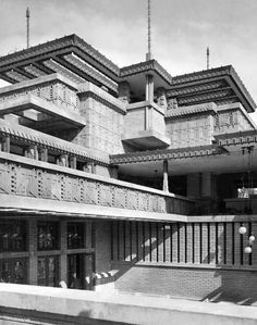 Midway Gardens. 1914 (demolished in 1923) Chicago, Illinois. Frank Lloyd Wright