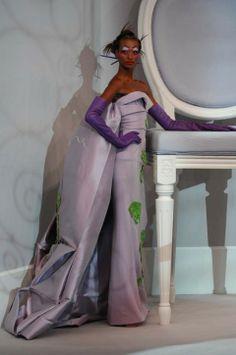 Spring 2007 Couture,Christian Dior, Yasmin Warsame  (IMG) Look 6