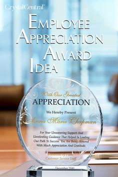 Searching for a unique or exquisite employee appreciation award plaque to say thank you to your staff for their hard work and accomplishments? Whether it is an employee celebrating work anniversary, a co-worker who is about to retire, an outgoing board of director who spent years leading the company, or a staff who goes above and beyond, this circular-shaped employee appreciation award plaque is perfect for any occasion. Corporate Awards, Work Anniversary, Employee Appreciation, Scroll Design, Above And Beyond, Hard Work, How To Be Outgoing, Searching, Unique
