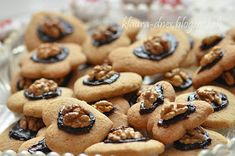 Z mojej kuchyne i fotoaparátu . Christmas Baking, Christmas Cookies, Czech Recipes, Cookie Exchange, Kitchen Hacks, Biscotti, Gingerbread Cookies, Pickles, Food And Drink