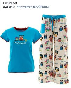 Lazy One Toddler Tee Dress Blue Multi Color Owls I/'m Owl Yours Pockets