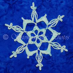 Copper Mountain Snowflake - free crochet pattern from Snowcatcher.