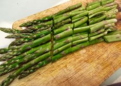 5-Minute Steamed Asparagus with Green Onion #steamed #vegan #cleaneating #vegetarian