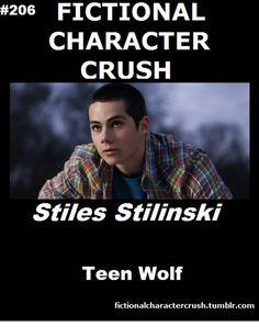 #206 - Stiles Stilinski from Teen Wolf