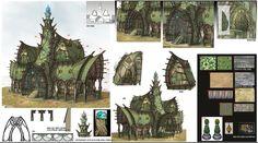 ArtStation - Old concept #03 NTD-project canceled, Il su Ko