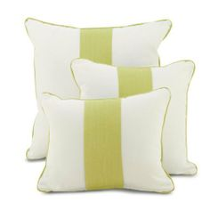 Banded Throw Pillow in Spring Green by Oilo. $49.00. Usually ships in 1-2 weeksMultiple SizesToss this decorative throw pillow from Oilo into the mix of your modern baby or kid's bedding set! Choose from three different sizes to coordinate with your chic kid's bedroom or nursery decor.  This cozy bolster pillow from Oilo is the perfect way to complete your kid's bedding set!  Oilo's Modern Berries Collection incorporates modern design with Scandinavian appeal. The mo...
