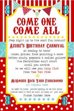 SimplyCumorah: Carnival Party ~ Behind the Scenes