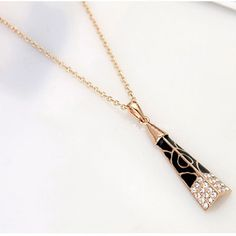 Black & Gold Jewelry Set