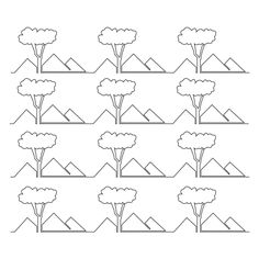 Free Continuous Line Quilting Patterns   Illustration on Behance - would be so cool on a house quilt!