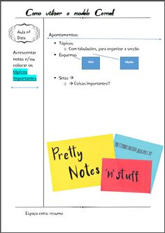 Cornell Notes - How to?