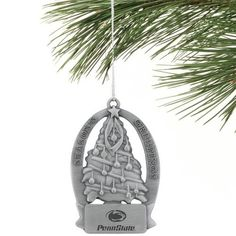 $9.95-$10.00 Penn State Nittany Lions Christmas Tree Ornament - Celebrate the holidays with this officially licensed ornament! The antique pewter tree shaped ornament is a keepsake to treasure for years. Packaged in a black presentation box.Officially licensed NCAA product http://www.amazon.com/dp/B003LD22IQ/?tag=pin2wine-20