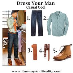 dress your man Casual Cool #mondayman #mens #fashion #style #eastdane #7forallmankind #jcrew