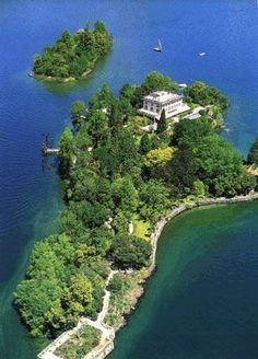 Brissagos Islands. Switzerland. A visit to the botanical gardens on the Islands of Brissago is a must for anyone staying in the region. The gardens bring together a great variety of exotic, subtropical plants, cultivated in the open air and laid out according to their geographical origins.
