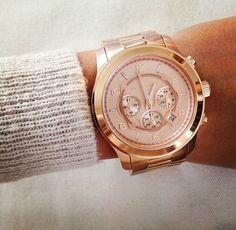 Michael Kors Rose Golden Runway Oversized Chronograph Watch http://www.michaelkors.com/store/catalog/prod.jhtml?itemId=prod4760009
