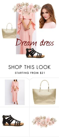 """""""dream dress"""" by natasha-stroud on Polyvore featuring Charlotte Russe, Dorothy Perkins, Accessorize and Lulu*s"""