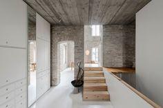 Contemporary Home Woven into Historic Architecture in Berlin - http://freshome.com/contemporary-home-in-historic-architecture