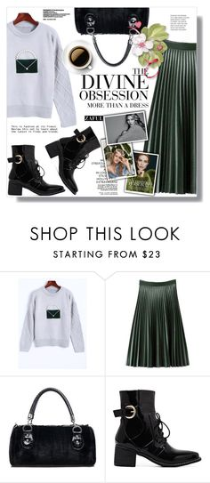 """""""Zaful"""" by sans-moderation ❤ liked on Polyvore featuring Vera Wang, Fall, polyvoreeditorial and polyvorecontest"""