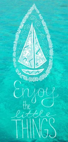 Enjoy the little things #wisdom #appreciation #life
