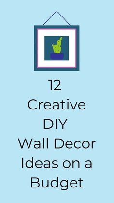 Check out these easy wall decor ideas for decorating your living room, bedroom, kitchen and entryway for cheap. Perfect if you are decorating on a budget. #hometalk