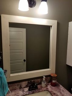 Custom Crafted Mirror Frame