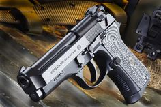 Beretta 92G Compact Carry - Photo courtesy Wilson Combat Loading that magazine is a pain! Excellent loader available for your handgun Get your Magazine speedloader today! http://www.amazon.com/shops/raeind