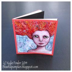 Handmade Art Journal #4 by Kylie Fowler  AKA: Blissful Pumpkin