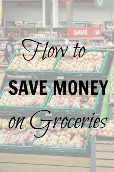 High grocery bill? Try these tips on how to save money on groceries. spend less money grocery shopping with some frugal tricks.