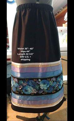 Navy Ribbon, Ribbon Work, Native American Clothing, Native American Fashion, Fancy Shawl Regalia, Traditional Skirts, Powwow Regalia, Native Fashion, Jingle Dress