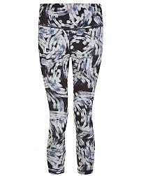 b5f6065ee29e64 Sweaty Betty - Chandrasana Crop Reversible Leggings - grey Patterned  Leggings, Print Leggings, Sweaty