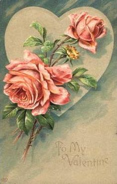Vintage picture beautiful heart free download