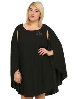 Star Wars Darth Vader Cape Dress Plus Size...NEED!