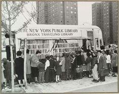 Biblioteca Pública móvel de Nova York (ano 1950)