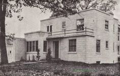 "Even More ""Firesafe"" Art Deco and Art Moderne House Plans! 