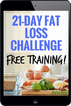 This is the home and offical page for the 21 Day Fat Loss Challenge by Avocadu. Lose 10-21 pounds in 3 short weeks with our revolutionary program!
